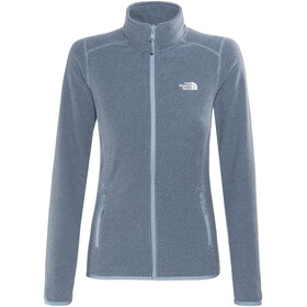 The North Face 100 Glacier FZ Jacket Provencial Blue